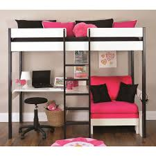 desk under bed ideas bunk with and high sleeper loft beds within design 17