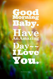 Good Morning I Love U Quotes