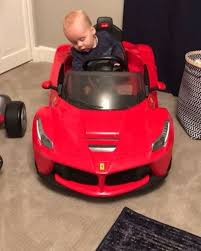 Our product line consist of our infamous ferrari f1 race car walker. Happy Ferrari Friday Enzo Gets Just As Excited As I Do When I Baby Car Seats La Ferrari Baby Car