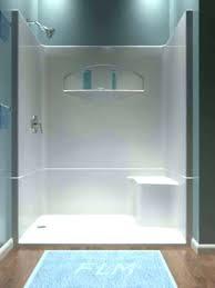 fiberglass shower surround one piece fiberglass tub enclosures one pertaining to fiberglass tub shower decorations installing