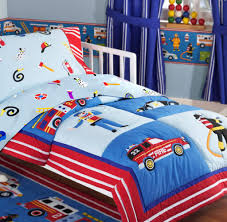 tremendous toddler boys bedding image ideas firefighter themed in the bag shared by lion cool full