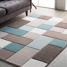 teal and grey area rug. Wrought Studio Mott Street Modern Geometric Carved Teal/Brown Area Rug \u0026 Reviews | Wayfair Teal And Grey Y