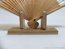 Japanese Fan Display Stand Sensu Display Stand =Optional Accessory= Japanese Handmade 42