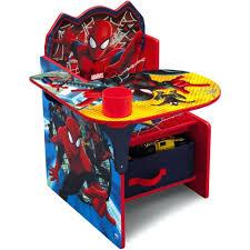 spiderman chair desk delta children spider man with storage bin