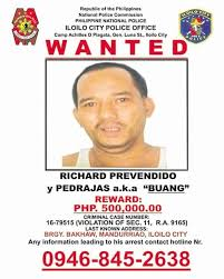 Criminal Wanted Poster Stunning Amulets Fail To Save Iloilo's 'most Wanted' Drug Lord Inquirer News