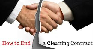 Termination Of Cleaning Services Letter How To End A Cleaning Contract Using End Of Contract Letter