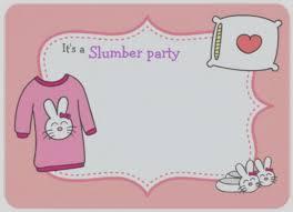sleepover template latest slumber party invitation invitations template sleepover