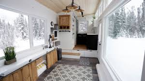 Open Concept Modern Tiny House with Elevator Bed - YouTube