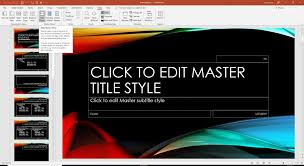 Ms Office 2010 Ppt Templates Using Multiple Design Themes In Powerpoint