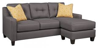 gray couch with chaise. Contemporary Couch Aldie Nuvella  Gray Sofa Chaise Intended Couch With Y