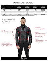 Leather Jacket Size Chart Motorcycle Leather Jacket Sizing Disrespect1st Com