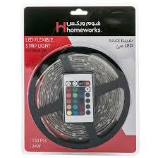 Dekor Outdoor Led Stair Light Kit Homeworks 24w Flexible Led Strip Light Kit