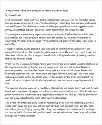 Long Love Letter to Boyfriend