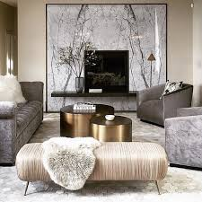 LUXURY LIVING ROOM   Grays, champagne and gold.  www.bocadolobo.com
