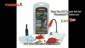 visbella diy windshield repair kit windscreen repair kit for auto glass