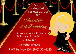 printable invitations for kids printable red carpet invitation kids red carpet birthday invite