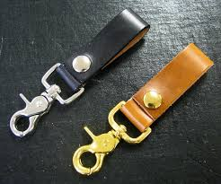 leather belt key holders with swivel clips