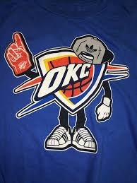 Image result for oklahoma city thunder cartoon