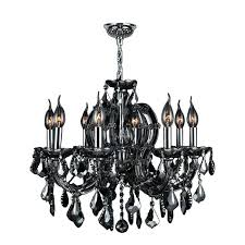 black chrome chandelier 8 light chrome finish with oke crystal chandelier pertaining to incredible residence oke