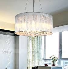white drum chandelier hot drum shade crystal ceiling chandelier pendant light fixture for awesome residence drum