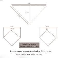 Image Result For Bandana Bib Dimensions Bandana Bib