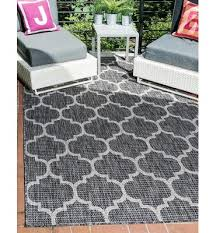 contemporary area rug black kirvujntp modern geometric 5 feet by 8 feet 5 x 8 outdoor trellis
