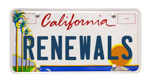 Image result for California Vehicle registration images