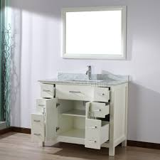 42 Bathroom Vanity Bathroom Vanity 42 Inch White Home Design Ideas