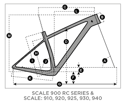 Scott Scale Geometry Chart Scott Scale 910 Bike