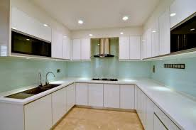image of new modern kitchen cabinets