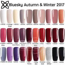 Details About Bluesky Autumn Winter Range 2 Uv Led Soak Off