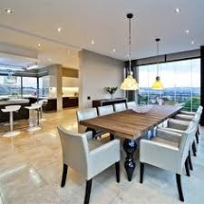 modern mansion dining room. Dining Room And Kitchen In A Modern Mansion On Pamin Road Johannesburg, South Africa T