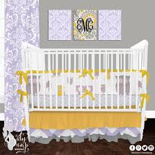 trendy lavender baby bedding 23 yellow crib set dressers