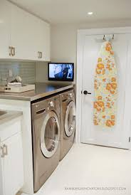 This has got to be the most amazing laundry room renovation I've ever seen