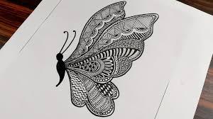 Butterfly <b>Mandala Art</b> for Beginners || Step by Step || Mandala ...