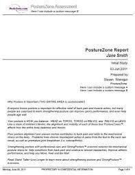 Posturezone Software