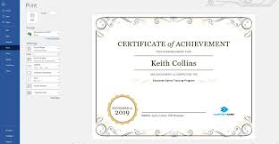 How To Make A Certificate In Word 2010 Create A Certificate Of Recognition In Microsoft Word