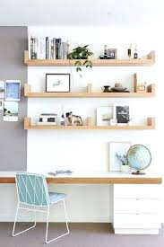 home office bookshelf ideas. Home Office Bookshelf Ideas A With Floating Shelves And Desk That Matches . I