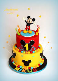 Mickey Mouse Cake By Alll Cakes Cake Decorating Daily