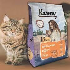 <b>Корм Karmy HAIR</b> & SKIN (Лосось), 1.5кг - Аксессуары во ...
