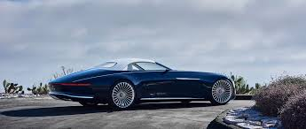 The next step towards your dream car: Vision Mercedes Maybach 6 Cabriolet Luxury Of The Future