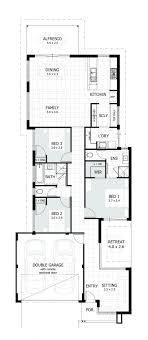 narrow lot single y homes perth cottage home designs house plans front g