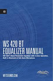 ws 420bt manual