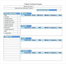 Employee Training Schedule Template Free Sample Example Employee