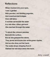 Patterns By Amy Lowell Enchanting Reflections Poem By Amy Lowell Poem Hunter