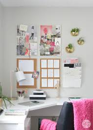 office makeover. Gorgeous Home Office Makeover The Decor Fix