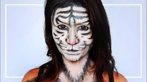 white tiger makeup tutorial jubayna you