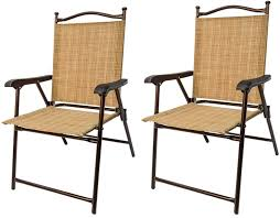 outdoor sling chairs. Amazon.com : Greendale Home Fashions Outdoor Sling Back Chairs, Set Of 2 Garden \u0026 Chairs R