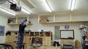 Full Size of Garage:diy Storage Shelves Garage Workbench Ideas Basement  Storage Shelves Garage Storage ...