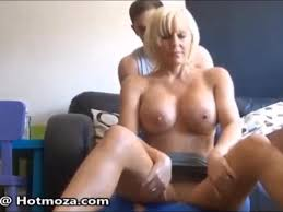 Mom gives son sensual massage